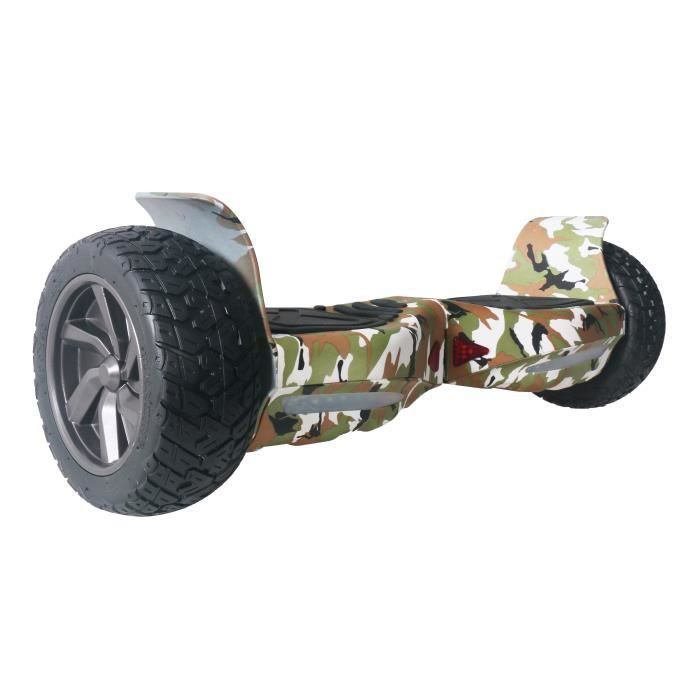 taagway hammer hoverboard tout terrain 8 bluetooth camouflage vert achat vente gyropode. Black Bedroom Furniture Sets. Home Design Ideas