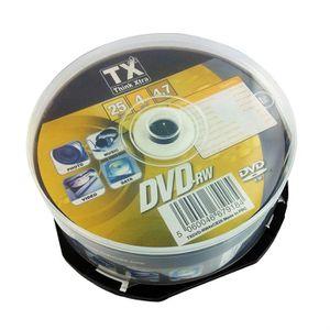 CD - DVD VIERGE Tx DVDTX47C25-RW