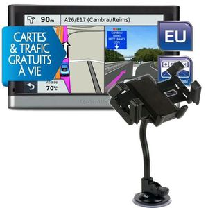 PACK GPS AUTO GPS Garmin nüvi 2447 LMT Europe 24 pays + Support