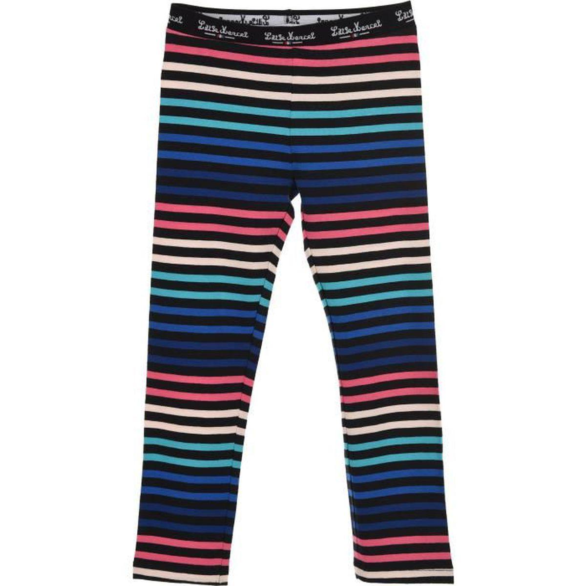 LEGGING LITTLE MARCEL Legging Fille 95% Coton/5% Elasthann
