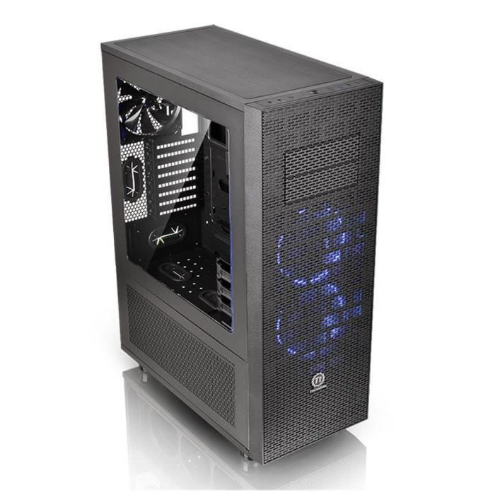 thermaltake bo tier pc core x71 noir fen tre prix pas cher cdiscount. Black Bedroom Furniture Sets. Home Design Ideas
