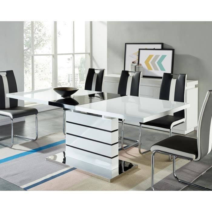 table a manger 6 personnes conceptions de maison. Black Bedroom Furniture Sets. Home Design Ideas
