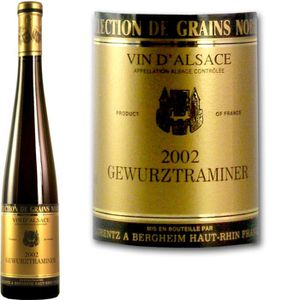 VIN BLANC Lorentz Gewurztraminer Sélection de Grains Nobles