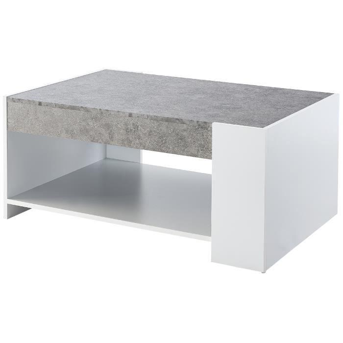 basse couleur couleur beton basse Table Table beton OiuXPZTwk