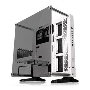 BOITIER PC  THERMALTAKE Core P3 TG blanc - Boîtier sans alimen