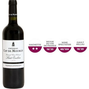 VIN ROUGE Château Cap de Mourlin 2009 Saint-Emilion Grand Cr