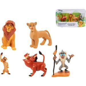 FIGURINE - PERSONNAGE LE ROI LION - Coffret 5 figurines