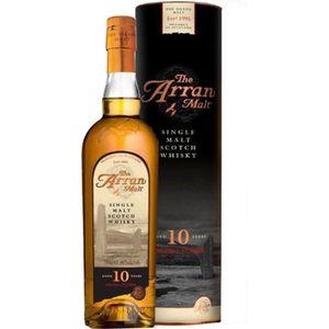 WHISKY BOURBON SCOTCH Arran 10 ans – Highlands Single Malt Scotch Whisky