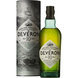 WHISKY BOURBON SCOTCH The Deveron 10 Ans - Single Malt - 70cl - 40°