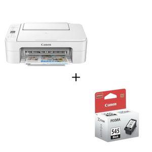 PACK IMPRIMANTE CANON Imprimante Multifonctions PIXMA TS 3351 Blan