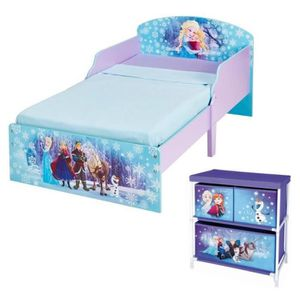 lit la reine des neiges achat vente jeux et jouets pas. Black Bedroom Furniture Sets. Home Design Ideas