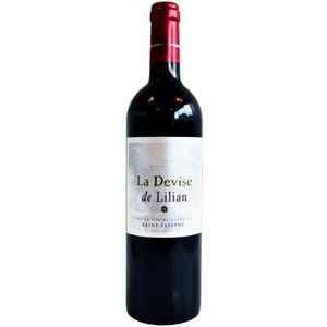 VIN ROUGE La Devise de Lilian 2011 Saint-Estèphe - Vin rouge