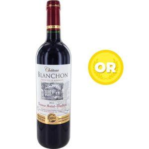 VIN ROUGE Château Blanchon 2012 Lussac Saint Emilion - Vin d