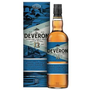 WHISKY BOURBON SCOTCH The Deveron 12 Ans - Single Malt - 70cl - 40°