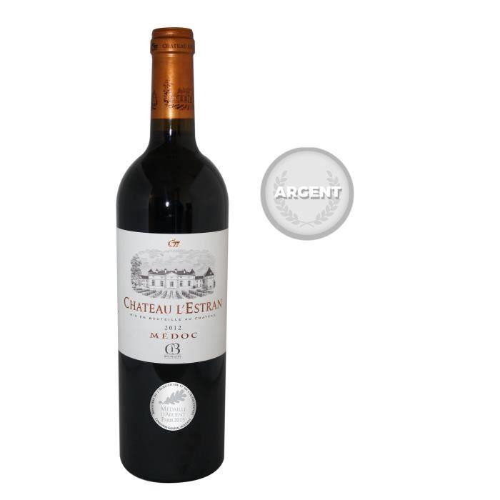 VIN ROUGE Château L'Estran 2012 Médoc - Vin rouge de Bordeau