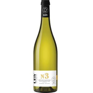 VIN BLANC UBY N°3 Côtes de Gascogne Colombard Ugni Blanc