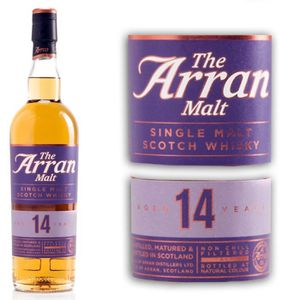 WHISKY BOURBON SCOTCH Arran 14 ans 46° 70cl