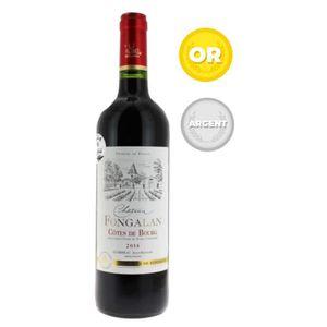 VIN ROUGE Château Fongalan 2014 Côtes de Bourg - Vin rouge d