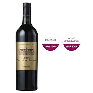 VIN ROUGE Château Cantenac Brown 2016 Margaux - Vin Rouge de