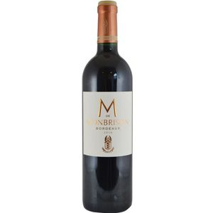 VIN ROUGE M de Monbrison 2016 Bordeaux - Vin rouge de Bordea