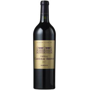 VIN ROUGE Château Cantenac Brown 2017 Margaux - Vin rouge de