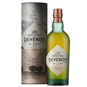 WHISKY BOURBON SCOTCH The Deveron 18 ans Whisky Single Malt  70 cl - 40°