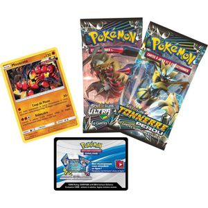 CARTE A COLLECTIONNER POKEMON - Coffret 2 Boosters (20 cartes) - Janvier