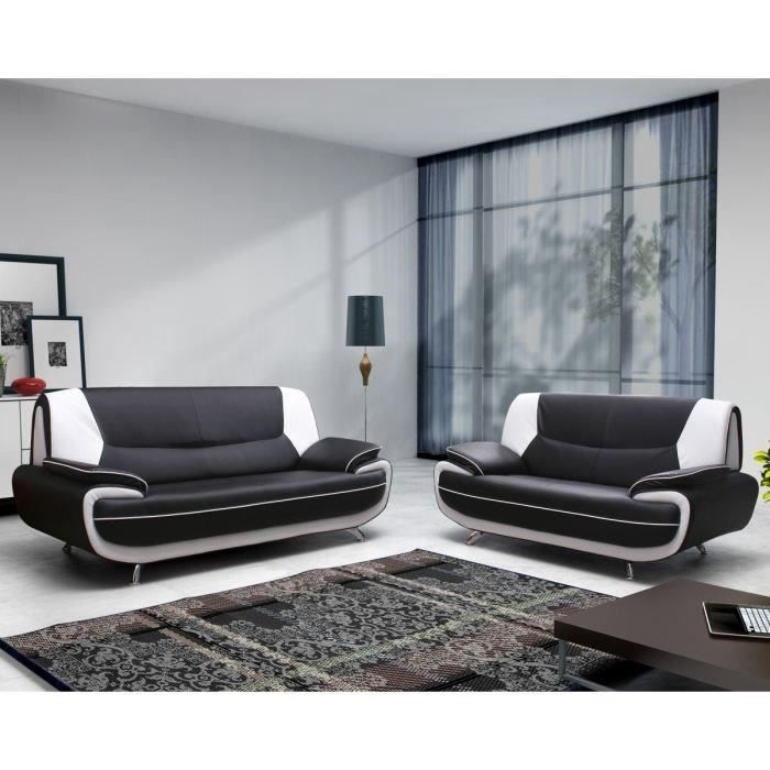 spacio ensemble canap s en simili 3 2 places 162x86x88. Black Bedroom Furniture Sets. Home Design Ideas