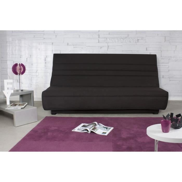 maya banquette clic clac avec matelas dunlopillo achat. Black Bedroom Furniture Sets. Home Design Ideas