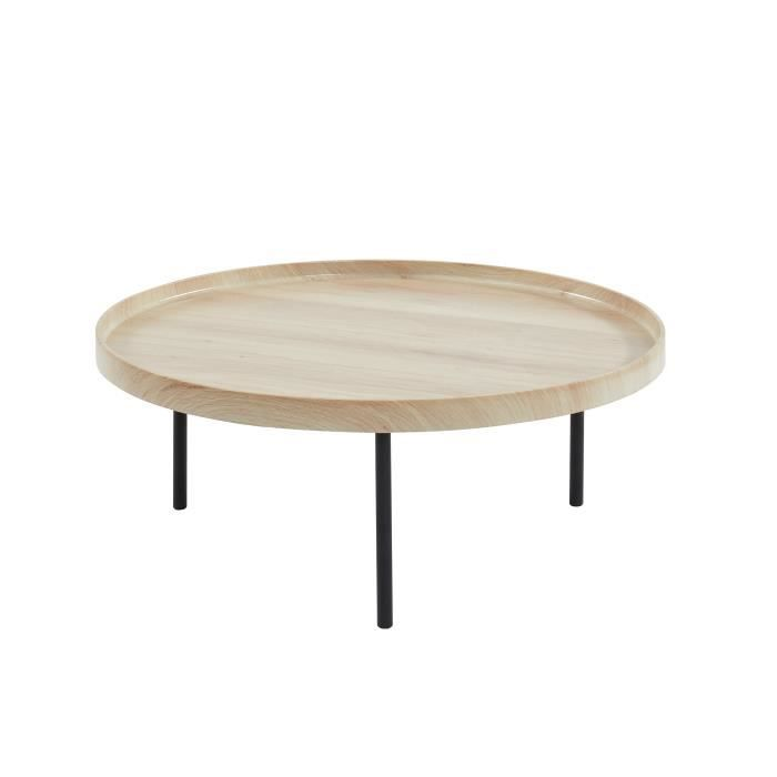 Table Basse Ronde Industriel