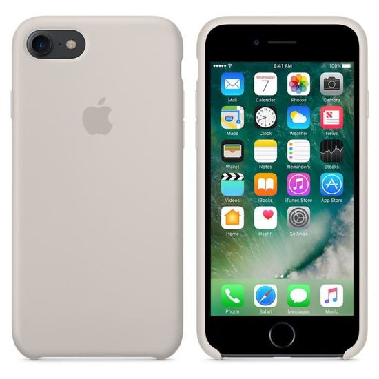 coque apple iphone xs gris sable