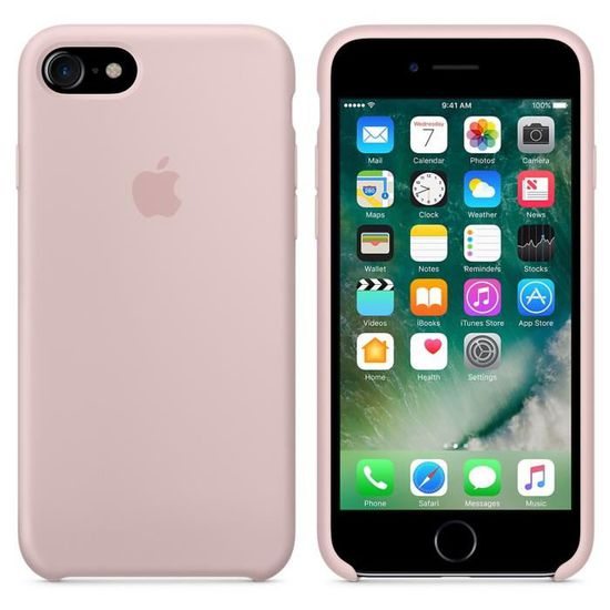 coque iphone 7 rose apple
