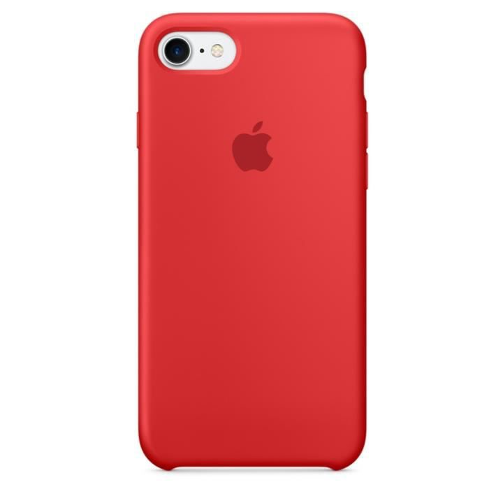Coque Rouge Iphone
