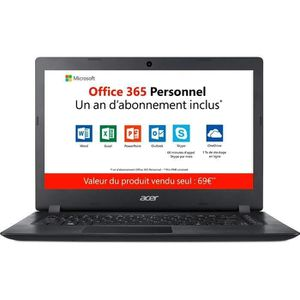 ORDINATEUR PORTABLE Ordinateur Portable - ACER Aspire 1 A114-31-C2CM -