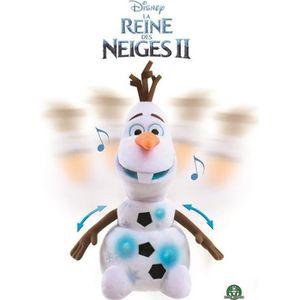 PELUCHE La Reine des Neiges 2 - Peluche Olaf 30 cm -  Avan