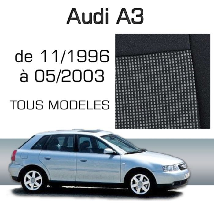housse sur mesure audi a3 11 96 05 03 achat vente housse de si ge housse sur mesure audi. Black Bedroom Furniture Sets. Home Design Ideas