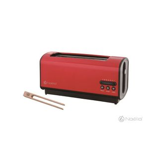 GRILLE-PAIN - TOASTER NAELIA BKR-TK102-NAE Grille-pain - Rouge