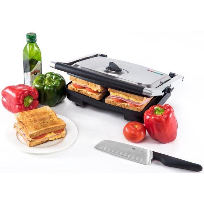 GRILL ÉLECTRIQUE Grill diététique - Naelia CGF-FM601-NAE