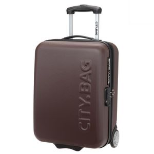 VALISE - BAGAGE CITY BAG Valise Cabine Low Cost ABS 2 Roues 48 cm