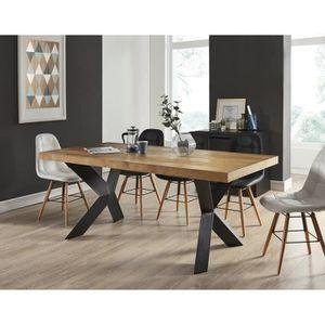 TABLE À MANGER SEULE PLATON Table à manger de 6 à 8 personnes style ind