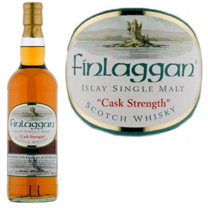 WHISKY BOURBON SCOTCH Finlaggan Cask Strength 58° 70cl