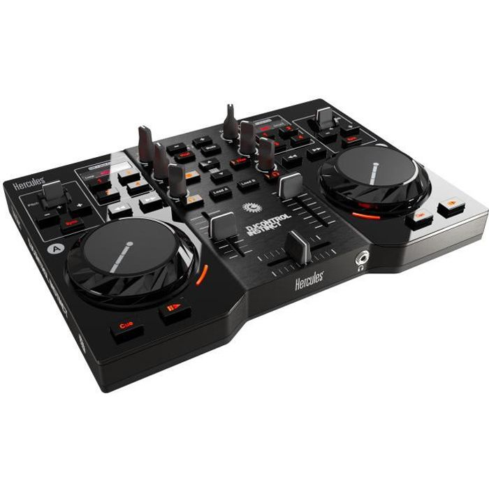 hercules contr leur dj control instinct usb table de mixage avis et prix pas cher cdiscount. Black Bedroom Furniture Sets. Home Design Ideas