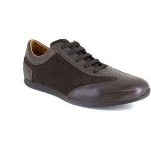 BASKET J.BRADFORD JB-MIDLAND Marron Chaussure Homme