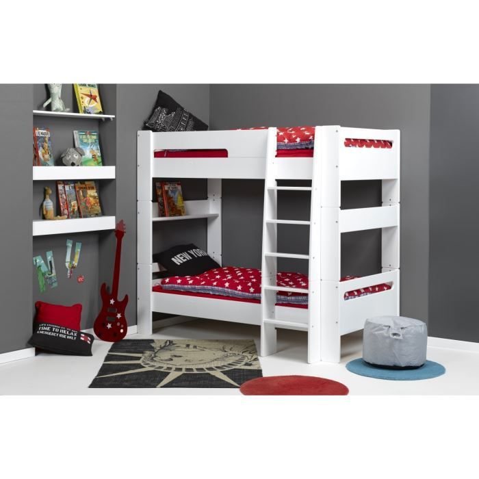 london lits superposables enfant 2 matelas achat. Black Bedroom Furniture Sets. Home Design Ideas