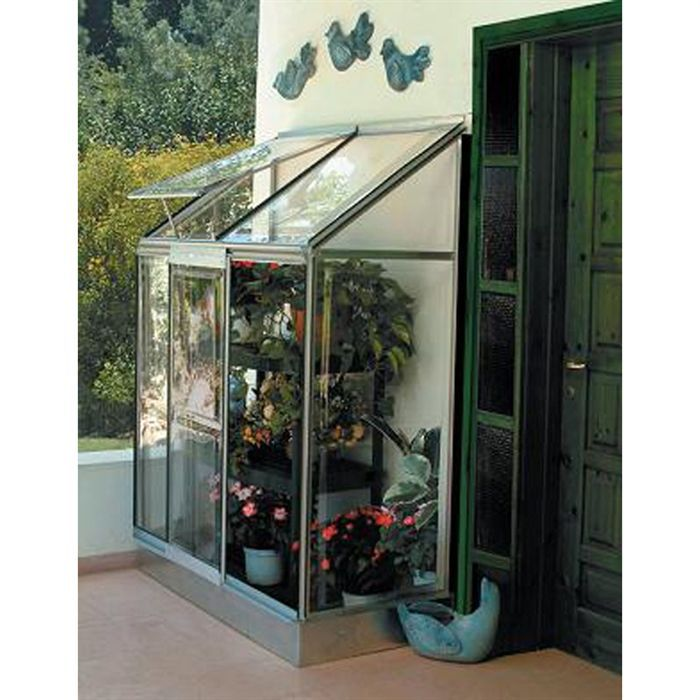 mini serre veranda 71 x 129 x 165 cm achat vente serre de jardinage mini serre veranda. Black Bedroom Furniture Sets. Home Design Ideas