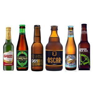 BIÈRE Pack de 6 bières blondes - 6 x 33 cl
