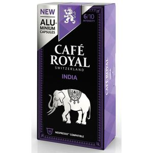 CAFÉ 10 capsules Café Royal Single Origin India Capsule