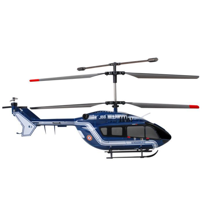 Modelco h licopt re ec145 gendarmerie xl r c achat for Helicoptere interieur