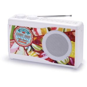 RADIO CD CASSETTE BIGBEN TR23CANDY Radio portable - Tuner analogique