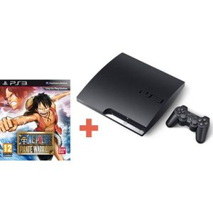 PLAYSTATION 3 CONSOLE PS3 320 Go + ONE PIECE PIRATE WARRIORS